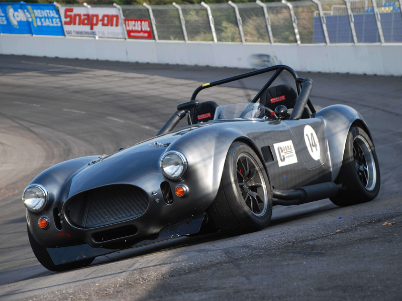 Cobra replica race car